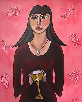 Queen Mary Magdalene - Grail Secrets by Sandra Marie Adams