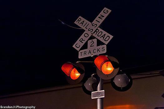 Railroad Crossing by Brandon Hughes