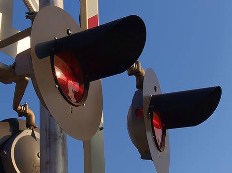 Railway Crossing Signal by Kevin Garrett