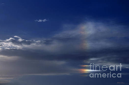 Rainbow in the Clouds by Amanda Collins
