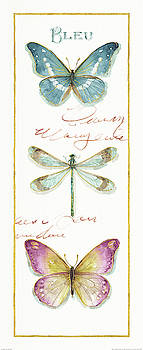 Rainbow Seeds Butterflies I by Lisa Audit