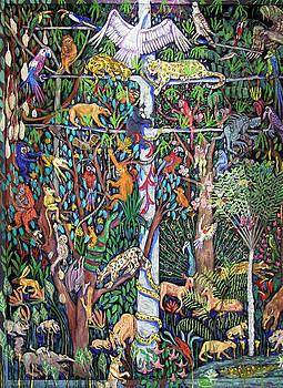 Rainforest-no frame by Maria Alquilar