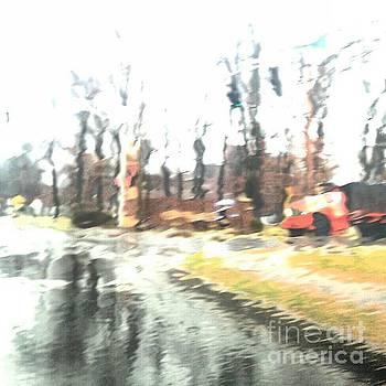 Rainy Drive by Stacy Frett