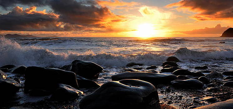 Rare Irish Sunset by Florian Walsh