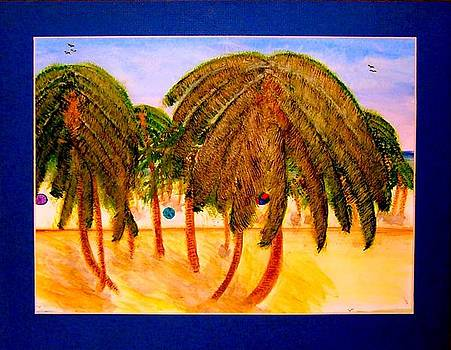 Rasta Palms by Larry Farris