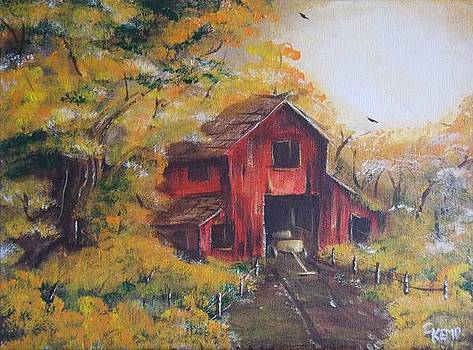 Red Barn 2 by Chuck Kemp
