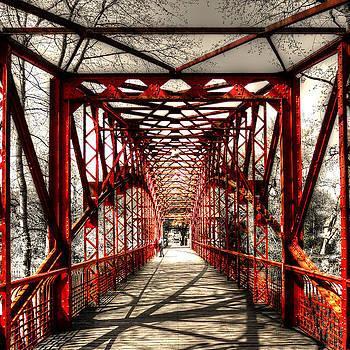 Red Bridge by Alexander Drum