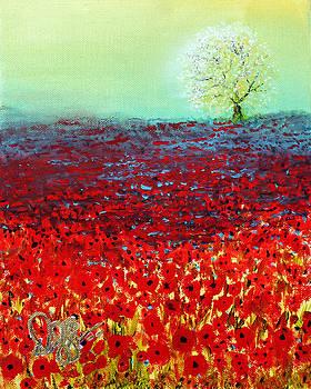 Red Fields by David Kacey