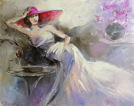 Red Hat Society by Nelya Shenklyarska