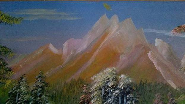 Red Rocks by Nixon Mwangi