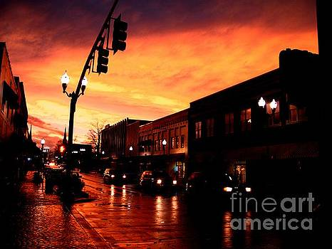 Red Sky at Dusk by   Joe Beasley