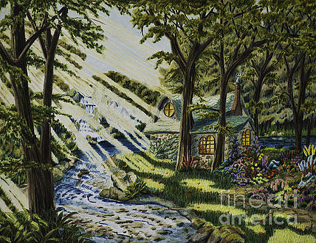 Return to Shani's Cottage by Robert Thornton