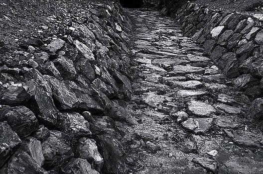 Rocky corridor by Sanjay Deva