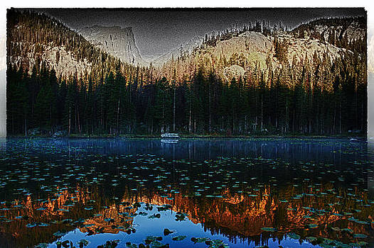 Rocky Mountain Reflection by Bruce Hamel