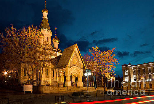 Russian Church of St Nicholas the Miracle Maker in Sofia by Kiril Stanchev