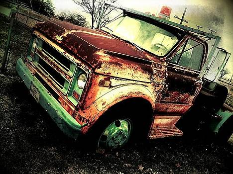Rusted and Busted by Denisse Del Mar Guevara