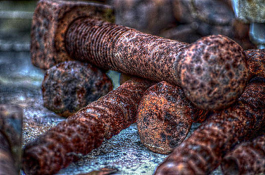 Rusted Bolts by Ronald T Williams