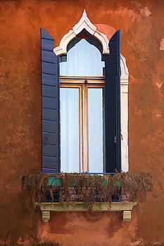 Rustic Window Italy by Indiana Zuckerman