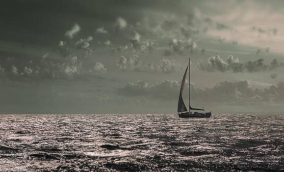 Sailing by Akos Kozari