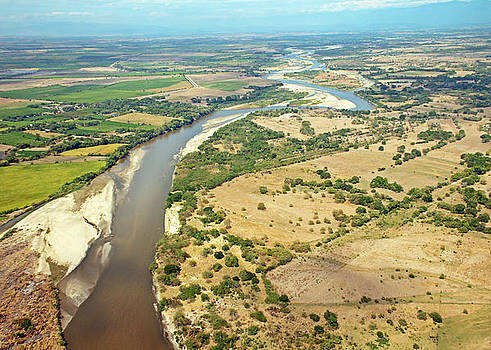 Saldana River Tolima  by Juan Correa
