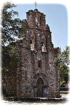 San Antonio Mission by Kathy Williams-Walkup