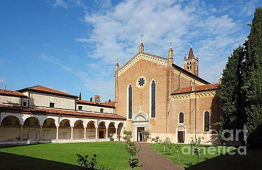 San Bernardino church in Verona by Kiril Stanchev