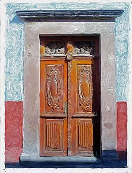 San Miguel de Allende Door 2 by Britton Britt Cagle