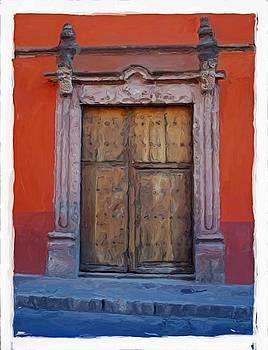 San Miguel de Allende Door 4 by Britton Britt Cagle