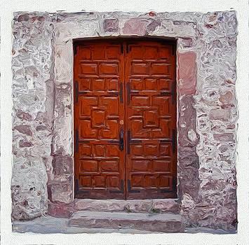 San Miguel de Allende Door 5 by Britton Britt Cagle