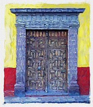 San Miguel de Allende Door 6 by Britton Britt Cagle