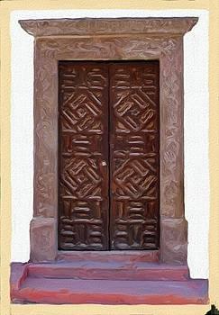 San Miguel de Allende Door 8 by Britton Britt Cagle