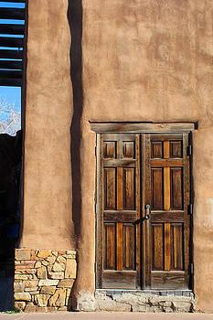 Santa Fe Doorway by Keith May