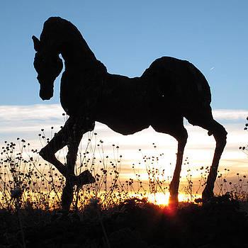 Santa Fe Sunset by Keith May