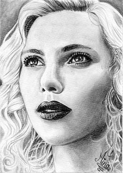 Scarlett Johansson by Amina Belhadj