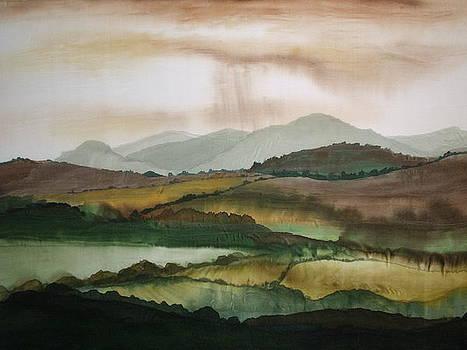 Scottish Hills by Hazel Millington
