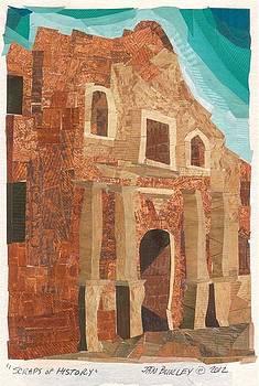 Scraps of History - The Alamo by Jan Burley Hunt