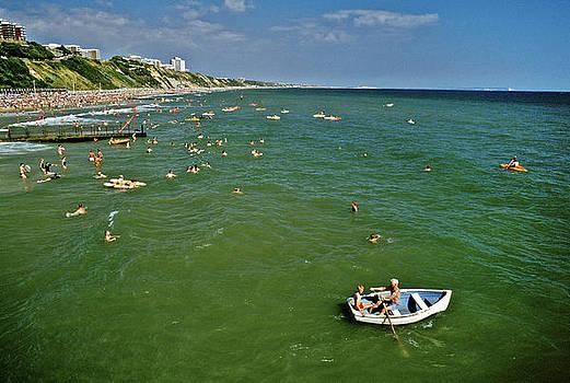 Seaside fun Bournemouth UK by David Davies