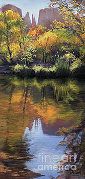 Sedona Reflections by Vicky Russell
