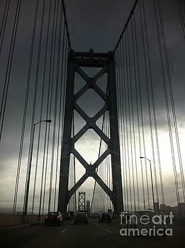 SF Bay Bridge before recent facelift by Sherri Durrell