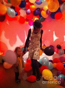 Sherri and Tyler in Baloons by Sherri Durrell
