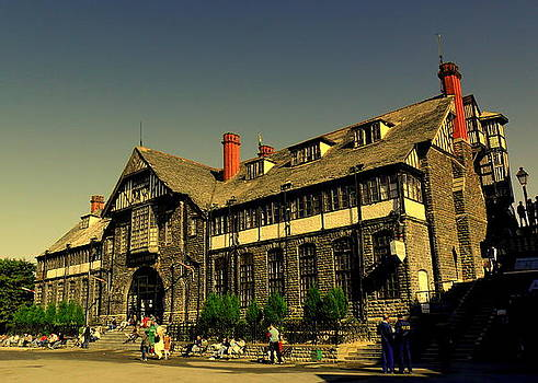 Shimla City Hall by Salman Ravish