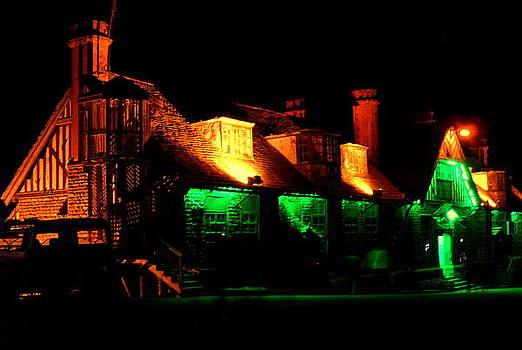 Shimla at Night by Salman Ravish