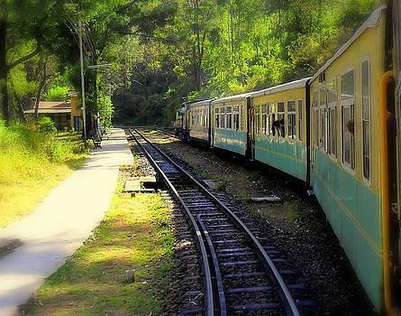 Shimla Train by Salman Ravish