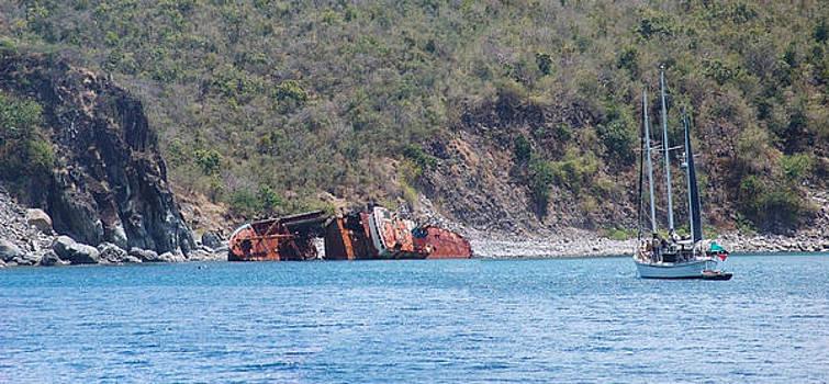 Shipwreck  by Sharon Theron