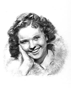 Shirley Temple 2 by Lou Ortiz