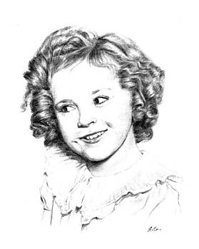 Shirley Temple1 by Lou Ortiz
