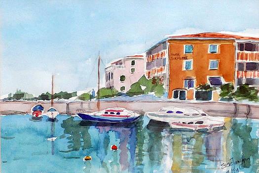 Sirmione Waterfront by Susie Jernigan