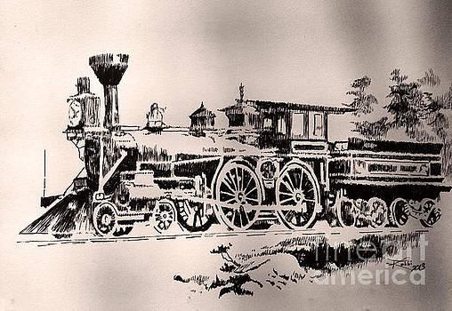 Slow Train by Robbi  Musser