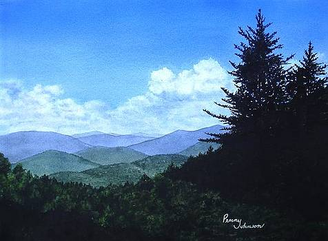 Smoky Mountain View by Penny Johnson