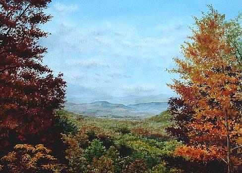 Smoky Mountains-Autumn by Penny Johnson